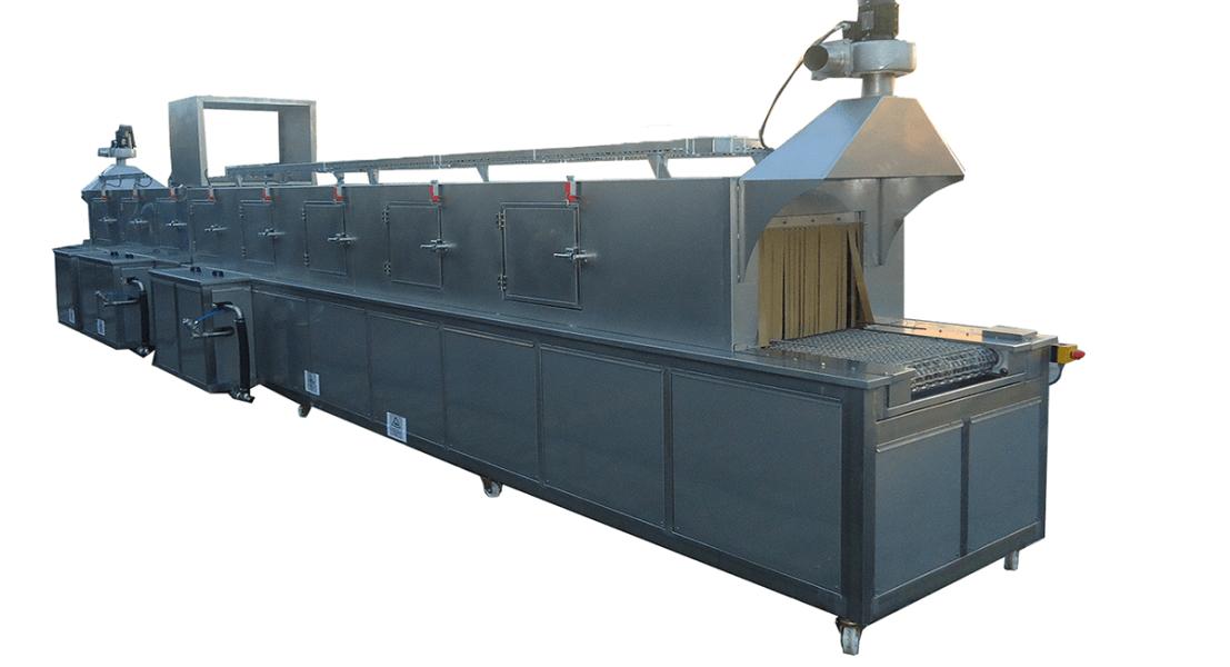 Lavadora industrial de tipo tunel para piezas 3