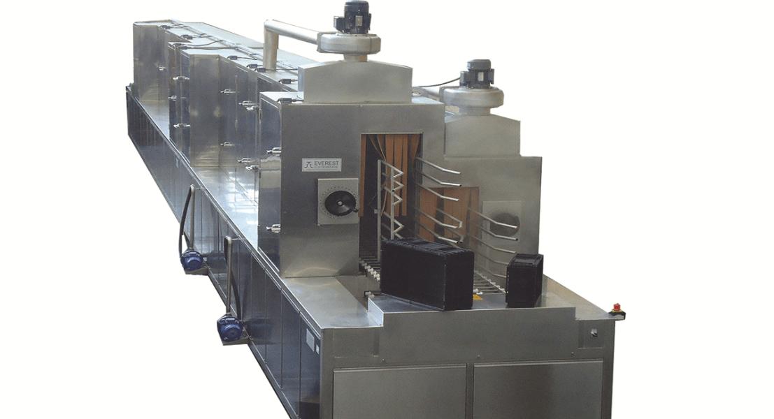 Lavadora industrial de tipo tunel para piezas 5