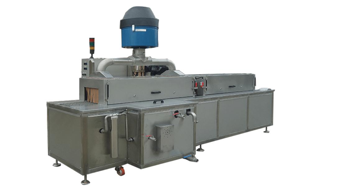 Lavadora industrial de tipo tunel para piezas 9