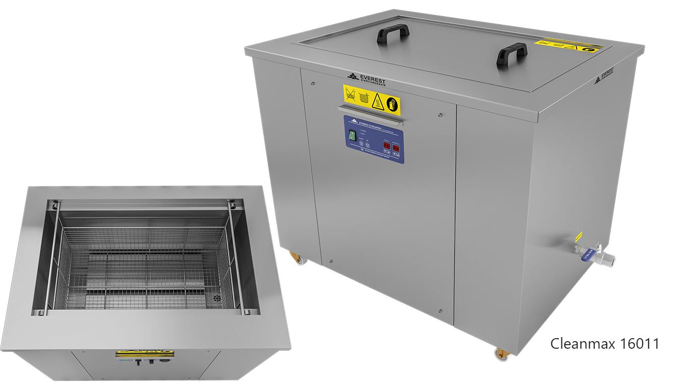 Lavadoras monocuba para limpieza de piezas por ultrasonidos - CLEANMAX 16011