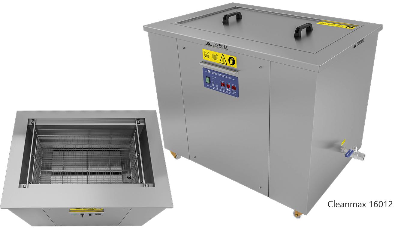 Lavadoras monocuba para limpieza de piezas por ultrasonidos -CLEANMAX 16012