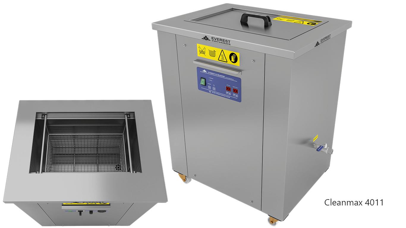 Lavadoras monocuba para limpieza de piezas por ultrasonidos - CLEANMAX 4011