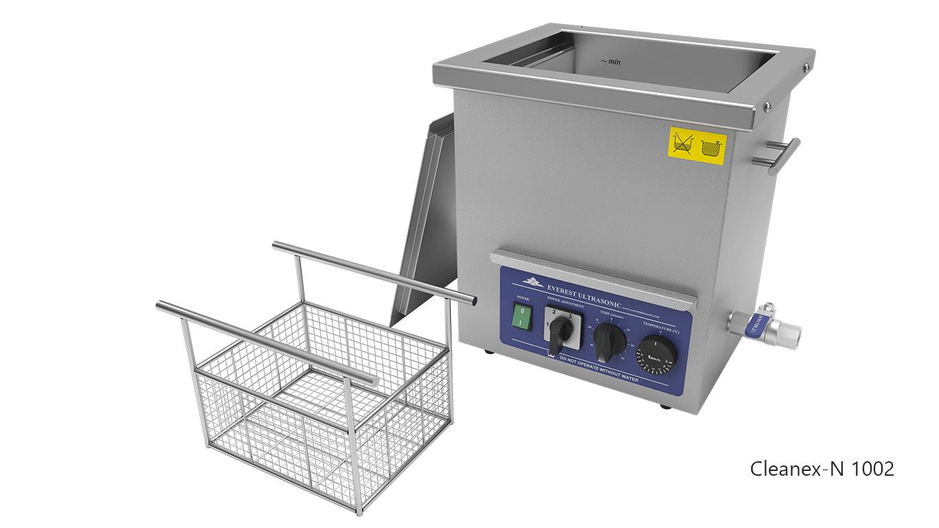 Máquinas de limpieza de piezas por ultrasonidos de sobremesa o portátiles - CLEANEX-N 1002