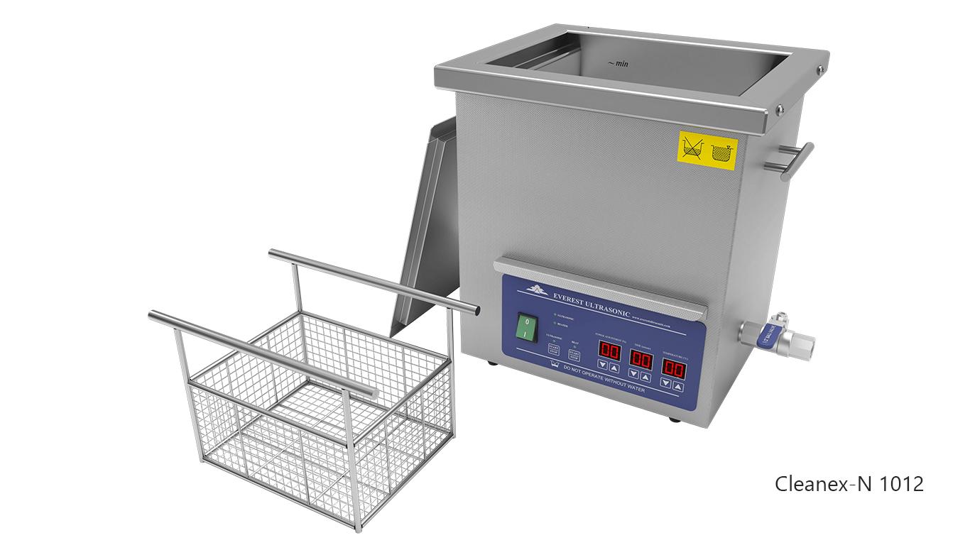 Máquinas de limpieza de piezas por ultrasonidos de sobremesa o portátiles - CLEANEX-N 1012