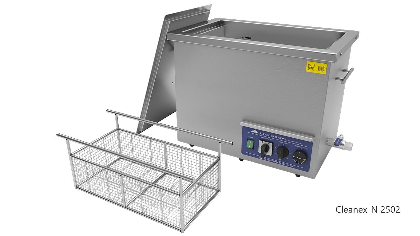 Máquinas de limpieza de piezas por ultrasonidos de sobremesa o portátiles - CLEANEX-N 2502