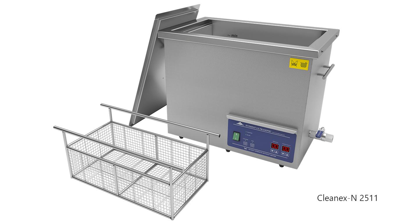 Máquinas de limpieza de piezas por ultrasonidos de sobremesa o portátiles - CLEANEX-N 2511