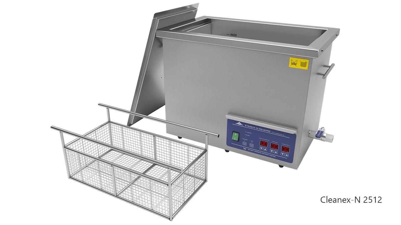 Máquinas de limpieza de piezas por ultrasonidos de sobremesa o portátiles - CLEANEX-N 2512