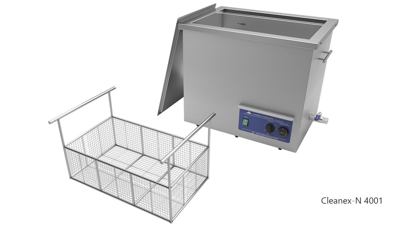 Máquinas de limpieza de piezas por ultrasonidos de sobremesa o portátiles - CLEANEX-N 4001