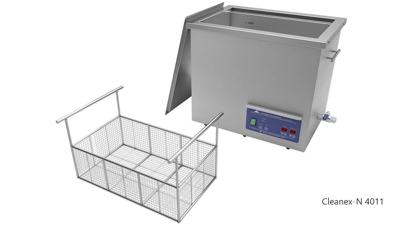 Máquinas de limpieza de piezas por ultrasonidos de sobremesa o portátiles - CLEANEX-N 4011