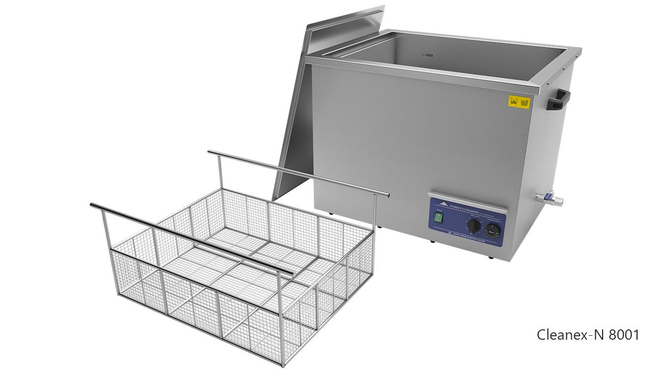 Máquinas de limpieza de piezas por ultrasonidos de sobremesa o portátiles - CLEANEX-N 8001