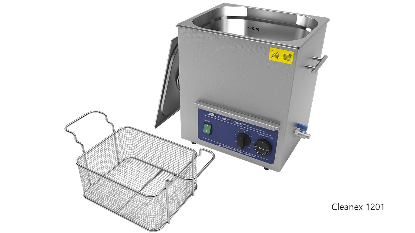 Máquinas de limpieza de piezas por ultrasonidos de sobremesa o portátiles - CleanEx 1201