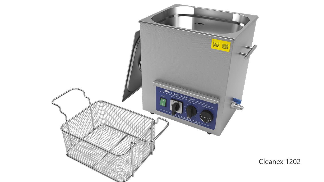 Máquinas de limpieza de piezas por ultrasonidos de sobremesa o portátiles - CleanEx 1202