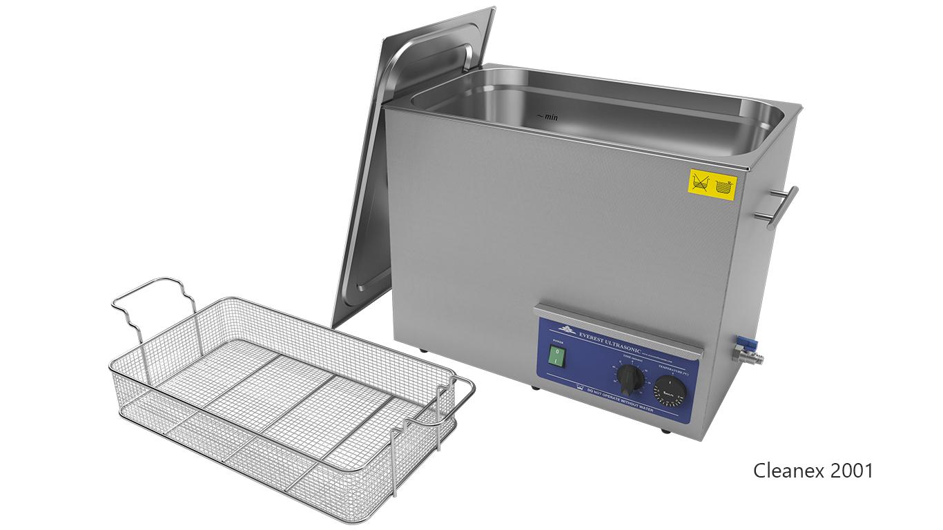 Máquinas de limpieza de piezas por ultrasonidos de sobremesa o portátiles - CleanEx 2001