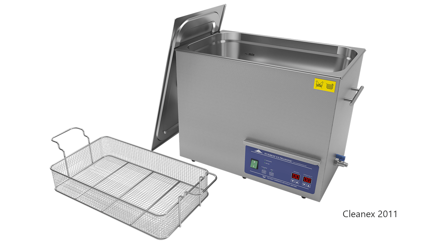 Máquinas de limpieza de piezas por ultrasonidos de sobremesa o portátiles - CleanEx 2011