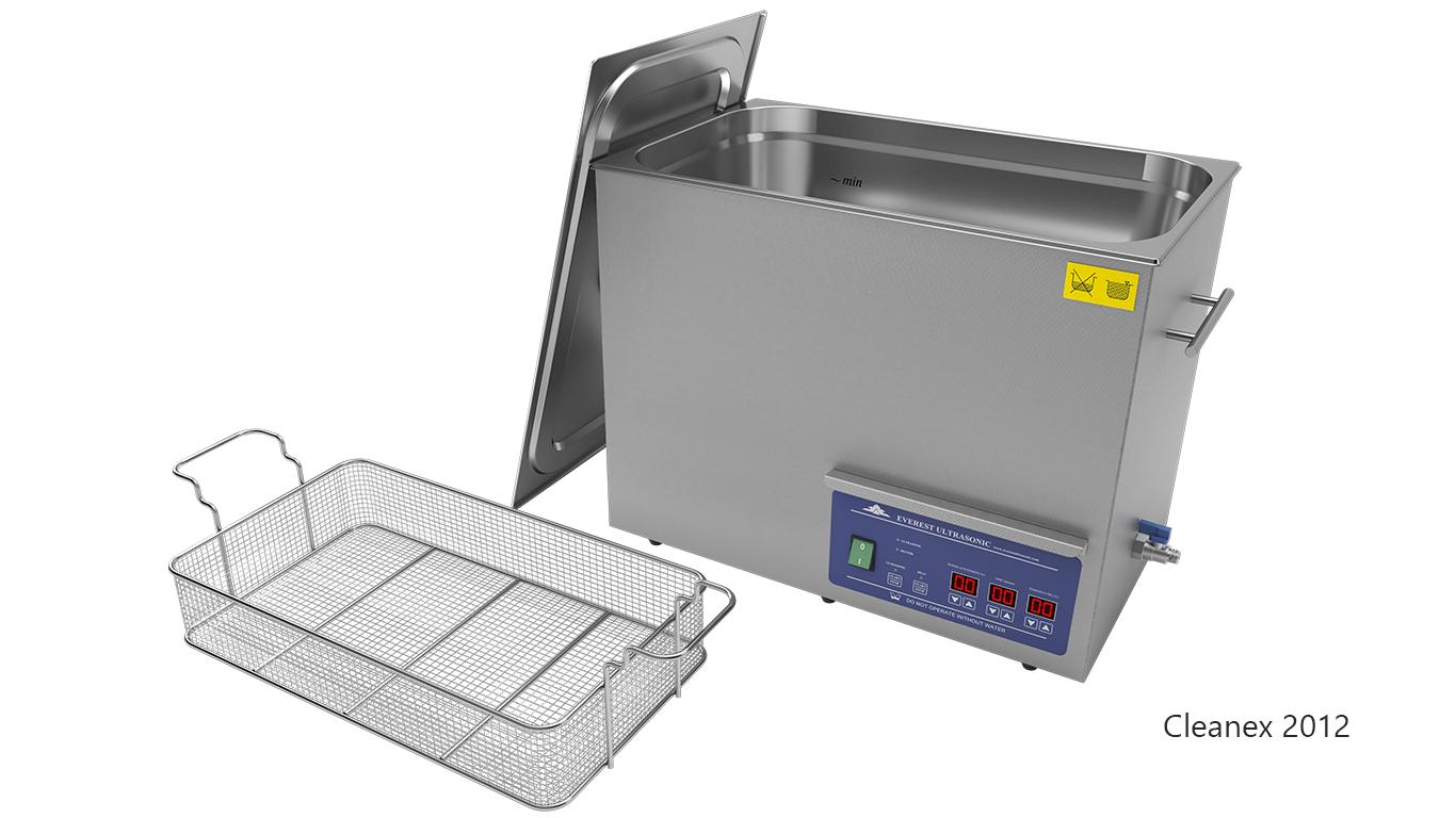Máquinas de limpieza de piezas por ultrasonidos de sobremesa o portátiles - CleanEx 2012