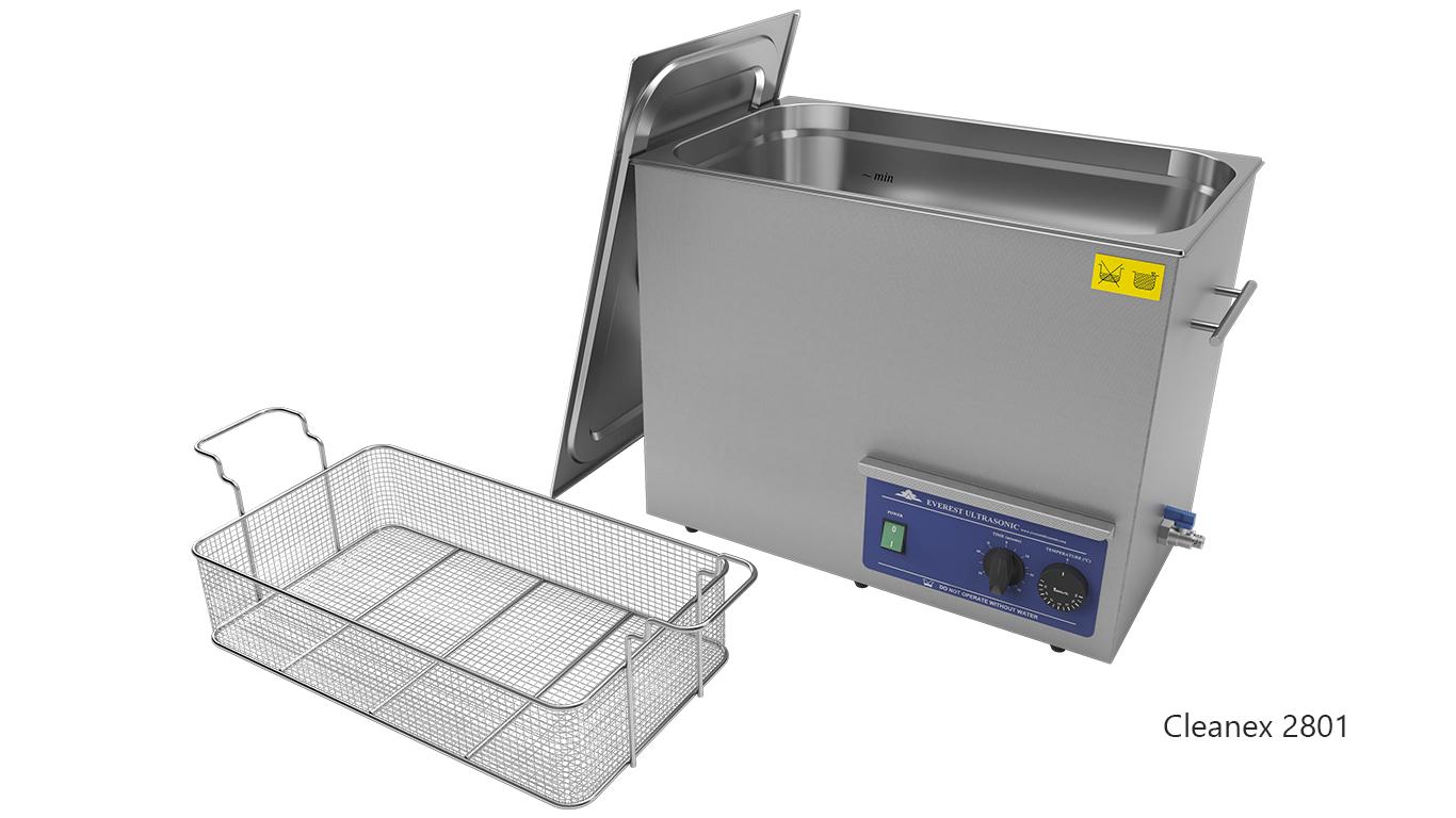 Máquinas de limpieza de piezas por ultrasonidos de sobremesa o portátiles - CleanEx 2801