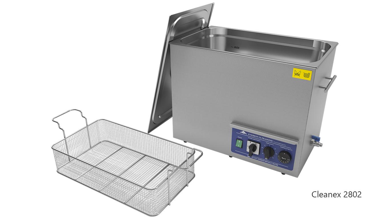 Máquinas de limpieza de piezas por ultrasonidos de sobremesa o portátiles - CleanEx 2802