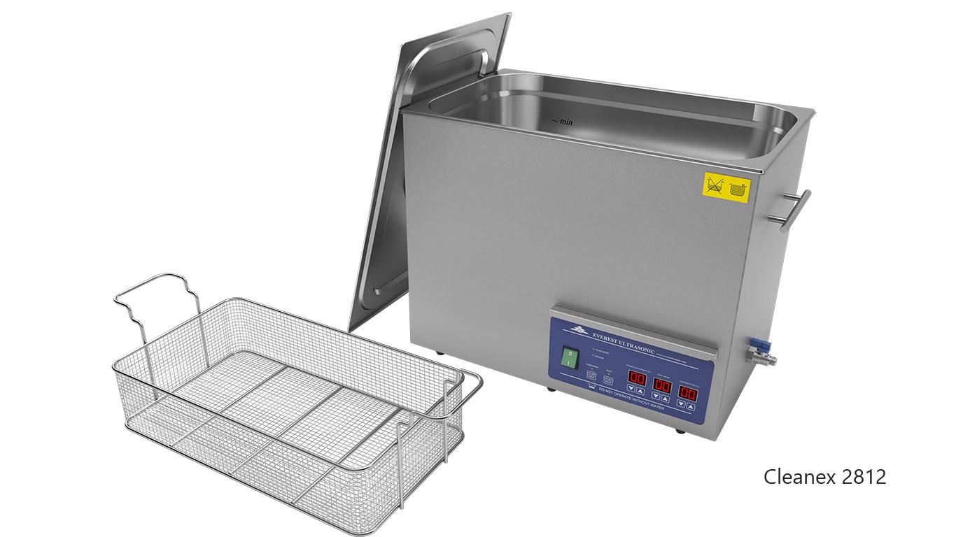 Máquinas de limpieza de piezas por ultrasonidos de sobremesa o portátiles - CleanEx 2812