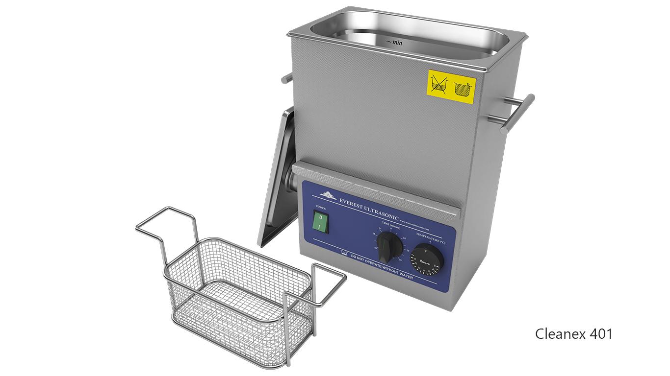 Máquinas de limpieza de piezas por ultrasonidos de sobremesa o portátiles - CleanEx 401