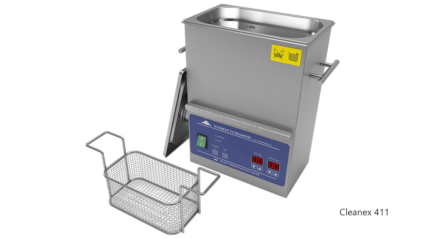 Máquinas de limpieza de piezas por ultrasonidos de sobremesa o portátiles - CleanEx 411