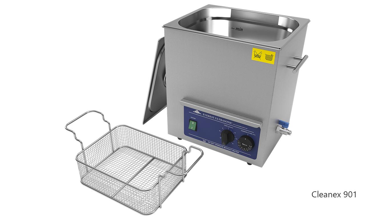 Máquinas de limpieza de piezas por ultrasonidos de sobremesa o portátiles - CleanEx 901