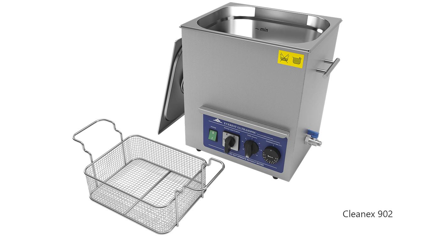 Máquinas de limpieza de piezas por ultrasonidos de sobremesa o portátiles - CleanEx 902