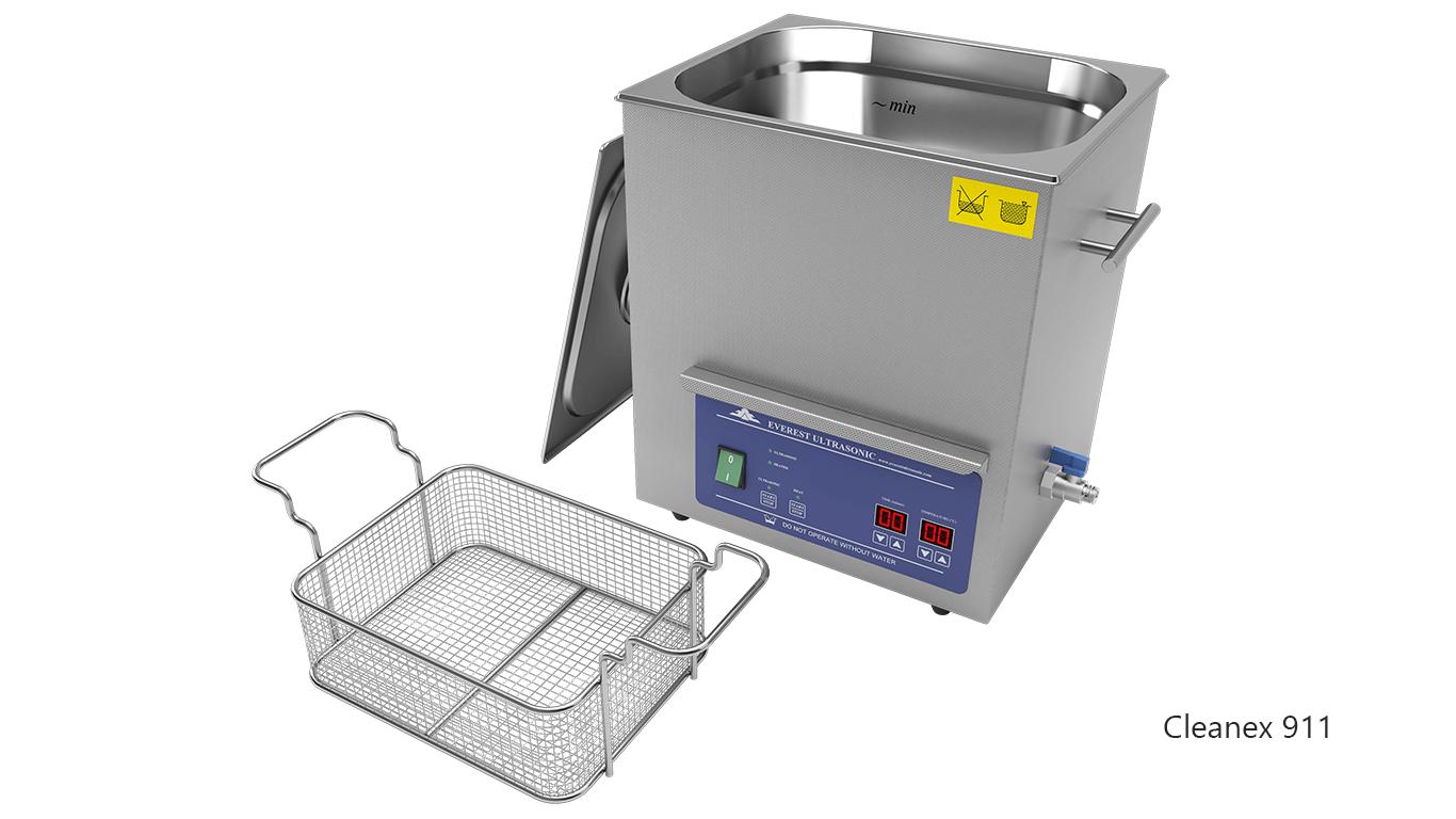 Máquinas de limpieza de piezas por ultrasonidos de sobremesa o portátiles - CleanEx 911