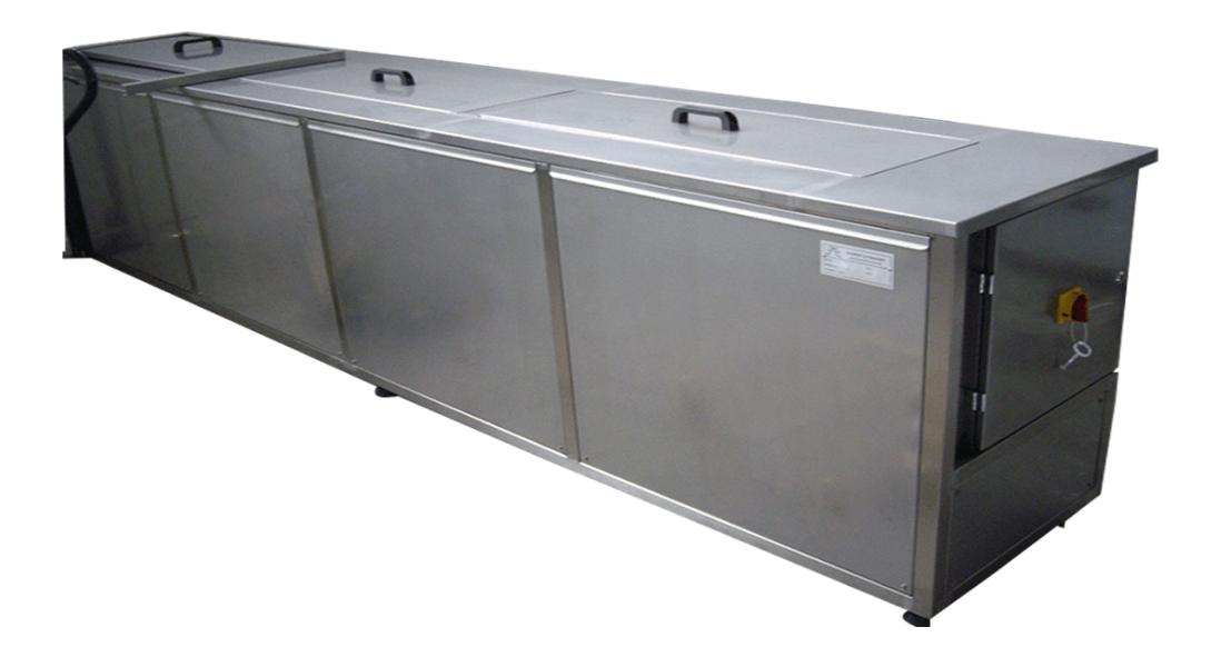 Máquinas de limpieza y lavadoras industriales de piezas multietapa con cubas por ultrasonidos - MULTICLEAN 1