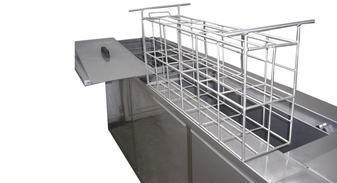 Máquinas de limpieza y lavadoras industriales de piezas multietapa con cubas por ultrasonidos - MULTICLEAN 10