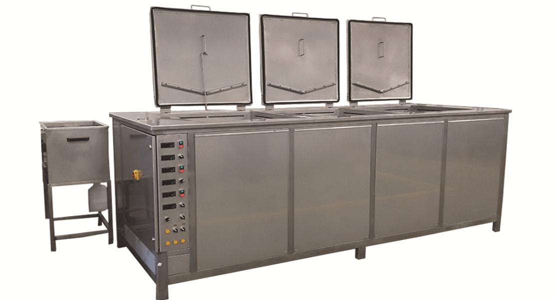 Máquinas de limpieza y lavadoras industriales de piezas multietapa con cubas por ultrasonidos - MULTICLEAN 11