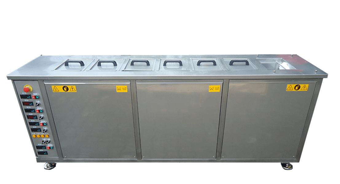 Máquinas de limpieza y lavadoras industriales de piezas multietapa con cubas por ultrasonidos - MULTICLEAN 12