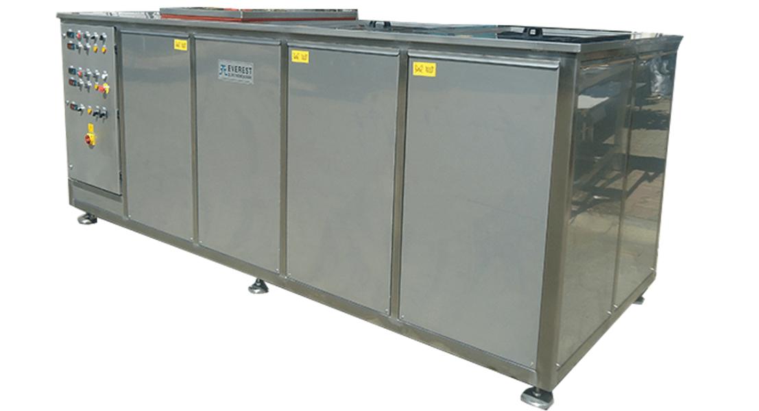 Máquinas de limpieza y lavadoras industriales de piezas multietapa con cubas por ultrasonidos - MULTICLEAN 13