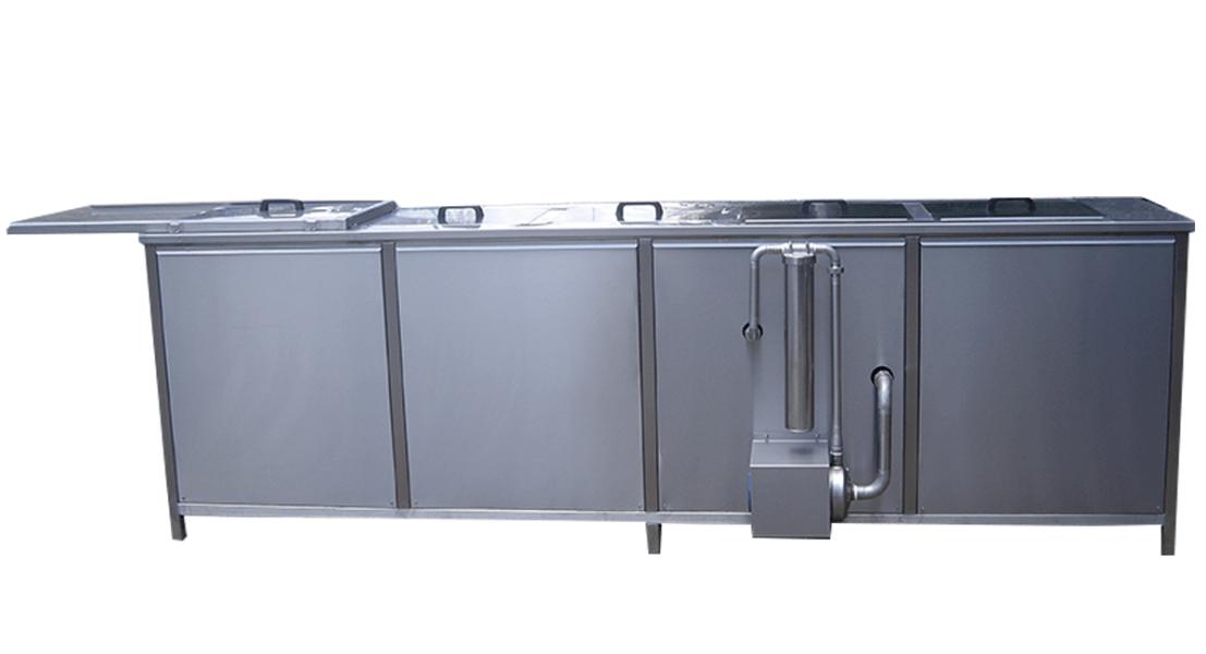 Máquinas de limpieza y lavadoras industriales de piezas multietapa con cubas por ultrasonidos - MULTICLEAN 14