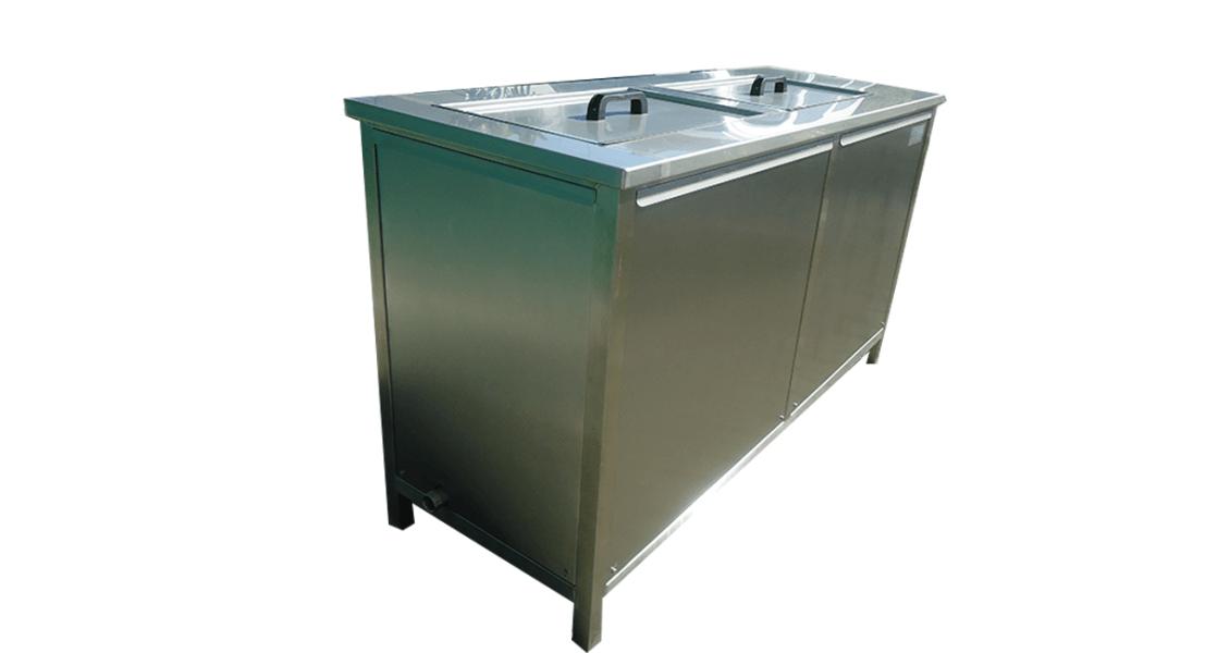 Máquinas de limpieza y lavadoras industriales de piezas multietapa con cubas por ultrasonidos - MULTICLEAN 15