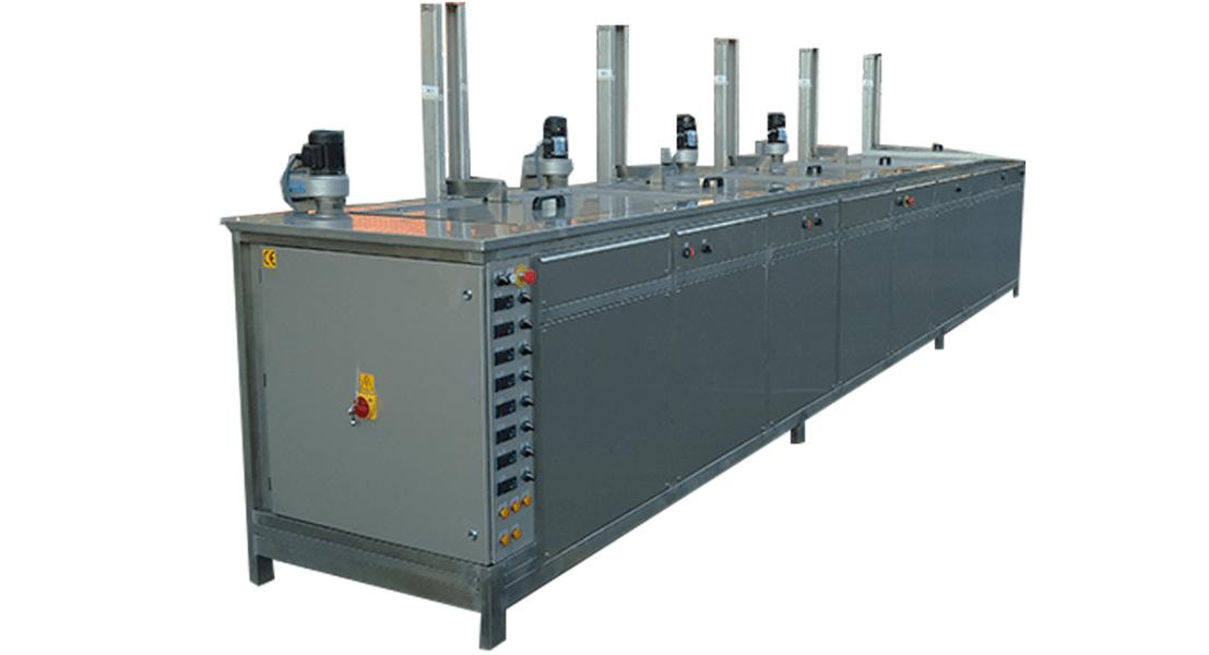 Máquinas de limpieza y lavadoras industriales de piezas multietapa con cubas por ultrasonidos - MULTICLEAN 2