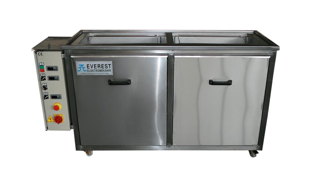 Máquinas de limpieza y lavadoras industriales de piezas multietapa con cubas por ultrasonidos - MULTICLEAN 3
