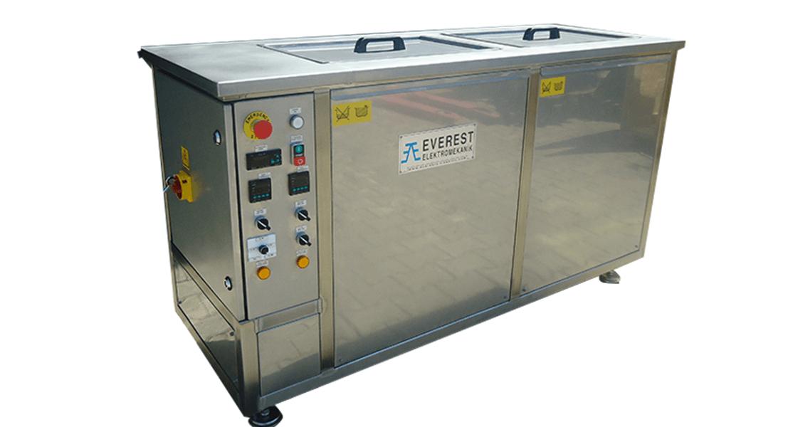 Máquinas de limpieza y lavadoras industriales de piezas multietapa con cubas por ultrasonidos - MULTICLEAN 4