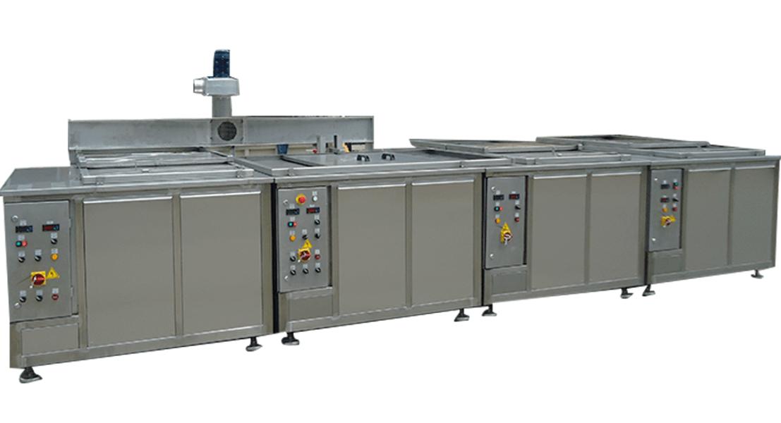 Máquinas de limpieza y lavadoras industriales de piezas multietapa con cubas por ultrasonidos - MULTICLEAN 7