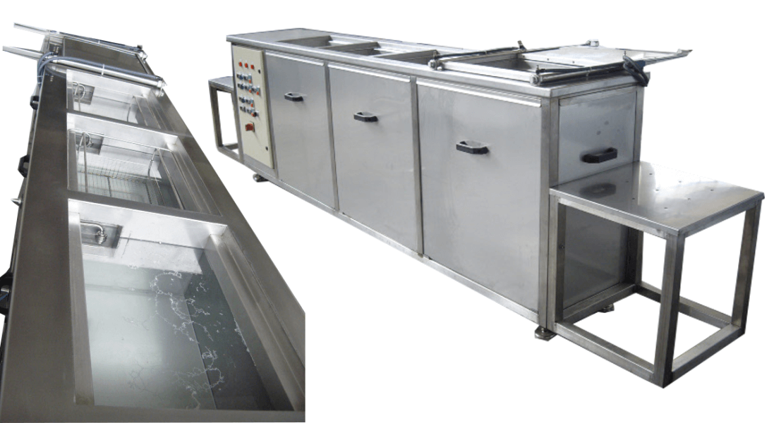 Máquinas de limpieza y lavadoras industriales de piezas multietapa con cubas por ultrasonidos - MULTICLEAN 8
