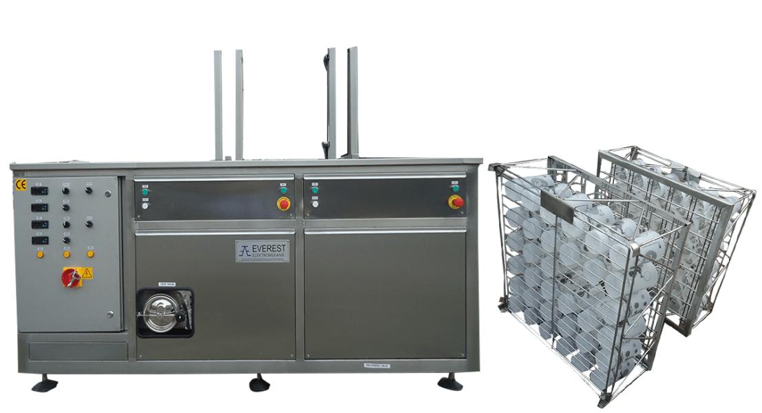 Máquinas de limpieza y lavadoras industriales de piezas multietapa con cubas por ultrasonidos - MULTICLEAN 9