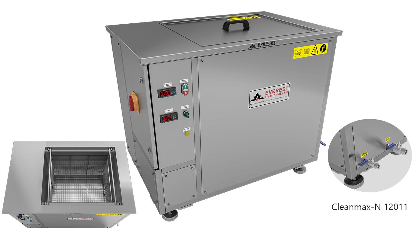 Máquinas de limpieza y lavadoras monocuba para limpieza de piezas por inmersión con ultrasonidos - CLEANMAX-N 12011