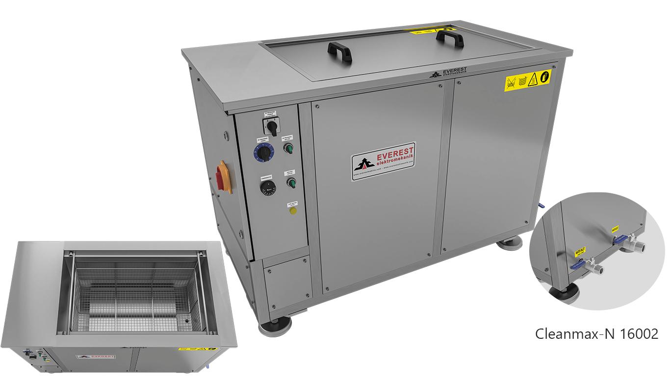 Máquinas de limpieza y lavadoras monocuba para limpieza de piezas por inmersión con ultrasonidos - CLEANMAX-N 16002