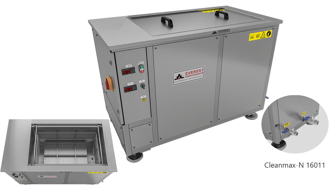 Máquinas de limpieza y lavadoras monocuba para limpieza de piezas por inmersión con ultrasonidos - CLEANMAX-N 16011