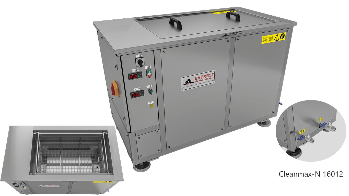Máquinas de limpieza y lavadoras monocuba para limpieza de piezas por inmersión con ultrasonidos - CLEANMAX-N 16012