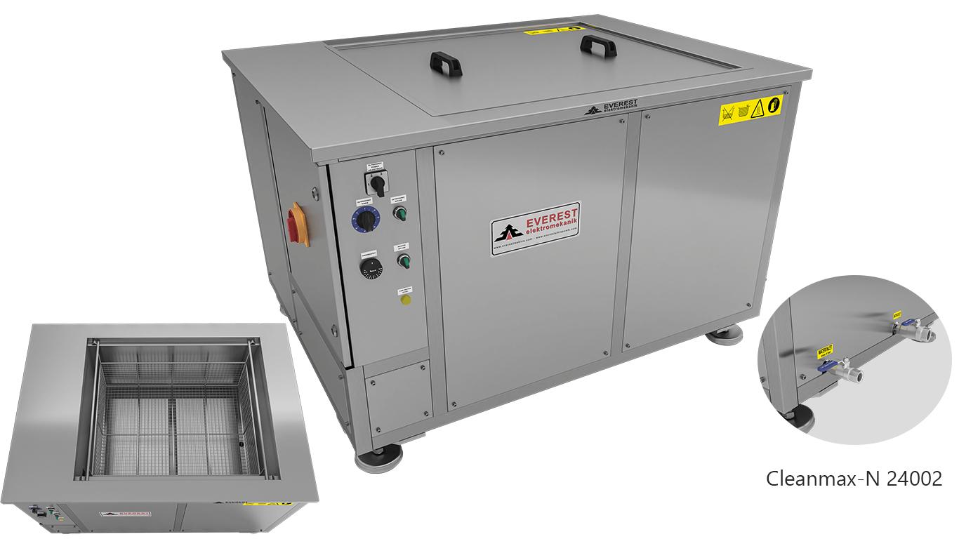 Máquinas de limpieza y lavadoras monocuba para limpieza de piezas por inmersión con ultrasonidos - CLEANMAX-N 24002