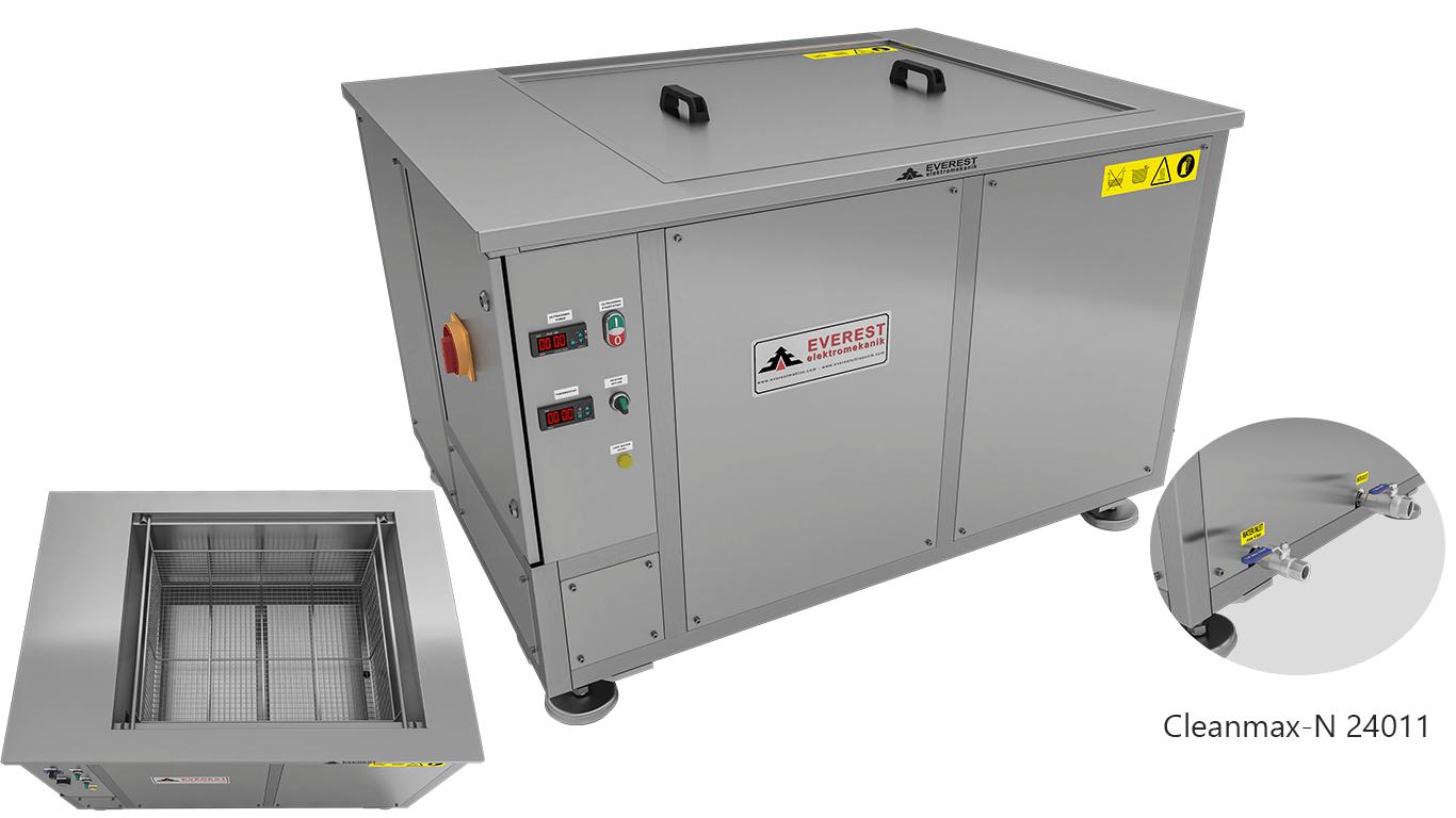 Máquinas de limpieza y lavadoras monocuba para limpieza de piezas por inmersión con ultrasonidos - CLEANMAX-N 24011