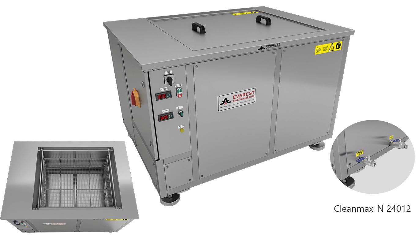 Máquinas de limpieza y lavadoras monocuba para limpieza de piezas por inmersión con ultrasonidos - CLEANMAX-N 24012