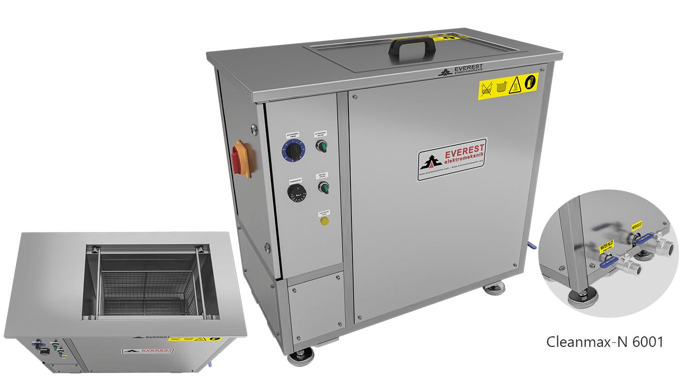 Máquinas de limpieza y lavadoras monocuba para limpieza de piezas por inmersión con ultrasonidos - CLEANMAX-N 6001