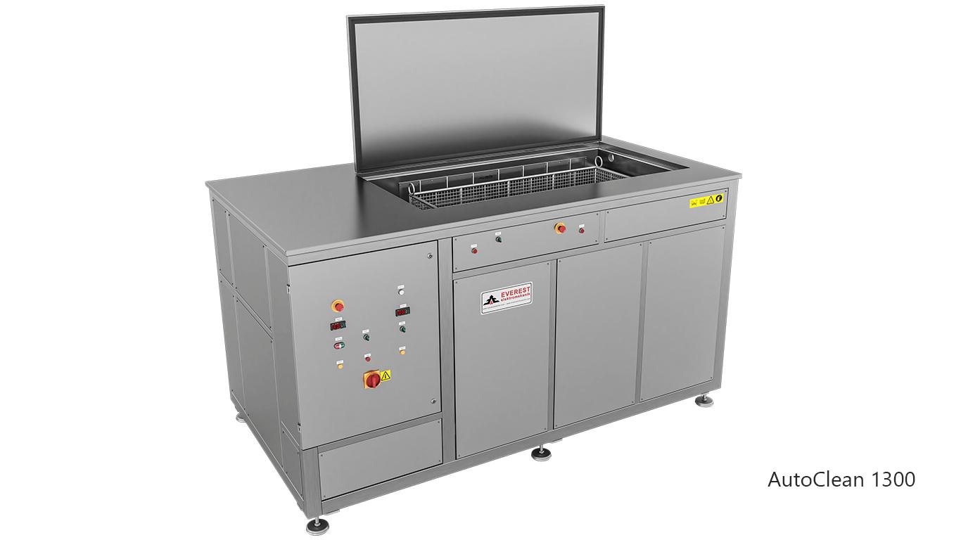 Máquinas de limpieza y lavadoras por ultrasonidos para limpieza de piezas y motores en talleres mecánicos de coches - AUTOCLEAN 1300