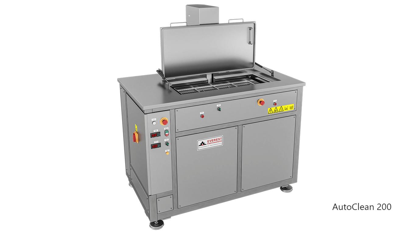 Máquinas de limpieza y lavadoras por ultrasonidos para limpieza de piezas y motores en talleres mecánicos de coches - AUTOCLEAN 200